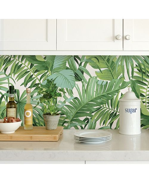 Brewster Home Fashions Maui Peel And Stick Wallpaper
