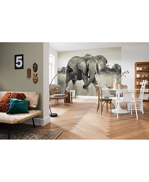 Brewster Home Fashions Elephant Mural