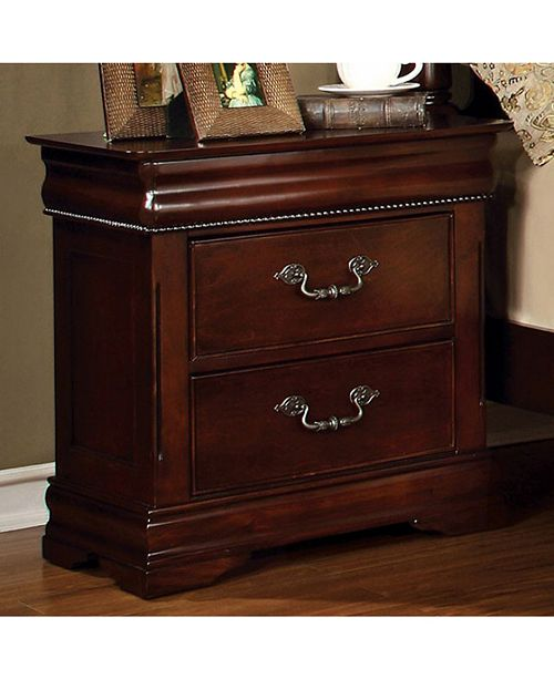 Benzara Contemporary Style Wooden Night Stand