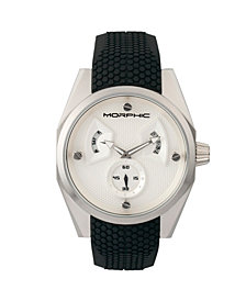 Morphic M34 Series Men's Watch w/ Day/Date - Silver