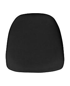 Offex Hard Fabric Chiavari Chair Cushion For Crystal / Resin Chiavari Chairs