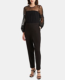 Paulette Illusion Jumpsuit