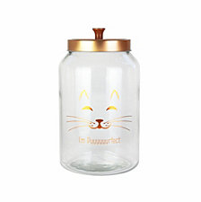 American Atelier Purrfect Glass Jar