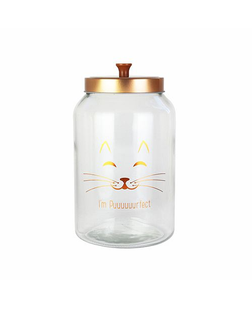 Jay Imports American Atelier Purrfect Glass Jar
