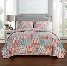 VCNY Home Anna Patchwork 3-Pc. Quilt Set Collection