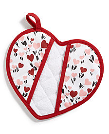 Martha Stewart Collection Valentine Pot Holder, Created for Macy's