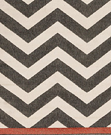 "Surya Alfresco ALF-9646 Black 18"" Square Swatch"