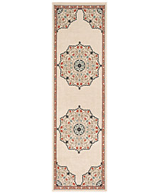 "Surya Alfresco ALF-9679 Burnt Orange 2'3"" x 11'9"" Runner Area Rug"