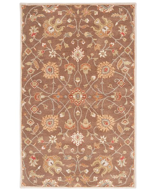 Surya Caesar CAE-1086 Dark Brown 8' x 11' Area Rug
