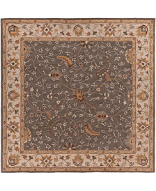 Surya Caesar CAE-1093 Medium Gray 8' Square Area Rug