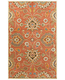 "Surya Caesar CAE-1107 Burnt Orange 7'6"" x 9'6"" Area Rug"