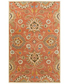 Surya Caesar CAE-1107 Burnt Orange 4' x 6' Area Rug