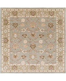 Surya Caesar CAE-1126 Medium Gray 8' Square Area Rug