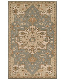 Surya Caesar CAE-1144 Medium Gray 12' x 15' Area Rug