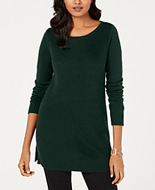 Charter Club Petite Boat-Neck Sweater, Created for Macy's