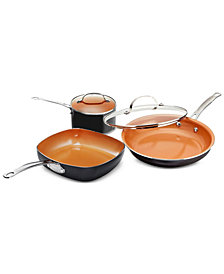 Gotham Steel 5-Pc. Square Cookware Set