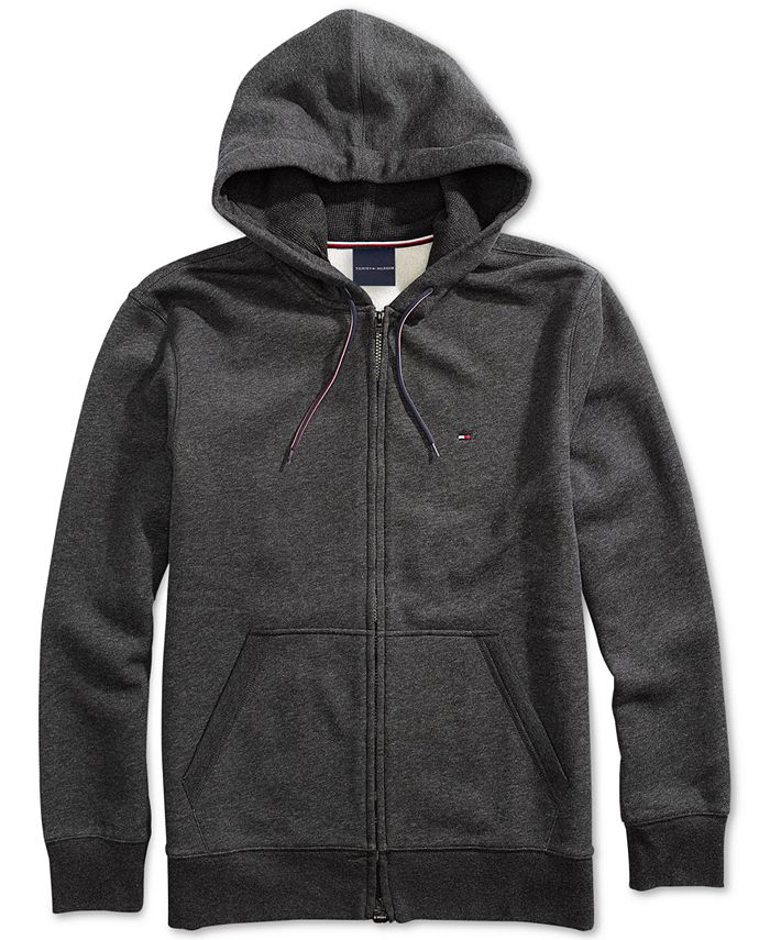 Tommy Hilfiger - Men's Plains Hoodie from The Adaptive Collection