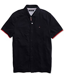 Men's Sanders Polo Shirt with Magnetic Buttons