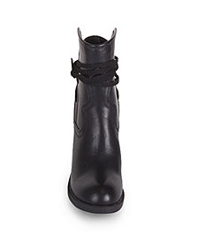 Wanted Lance Western Tie Bootie