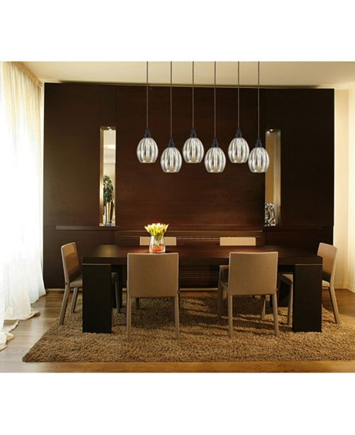 ELK Lighting Danica 3 Light Pendant in Oiled Bronze and Mercury Glass