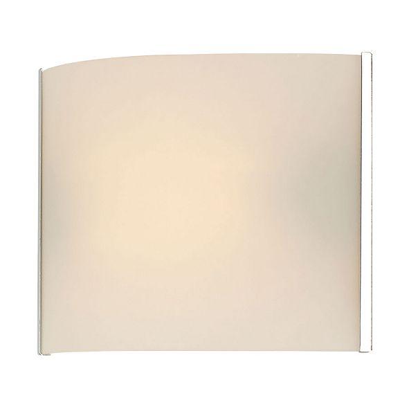 ELK Lighting Pannelli Vanity - 1 Light with Lamp. White Opal Glass / Chrome Finish