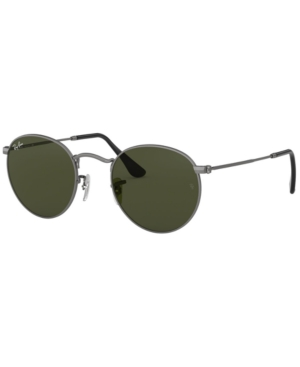 Image of Ray-Ban Sunglasses, RB3447 Round Metal