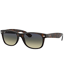Ray-Ban Polarized Sunglasses, RB2132 New Wayfarer
