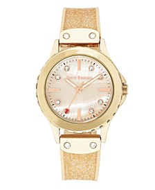 Woman's 1012RMLP Silicon Strap Watch
