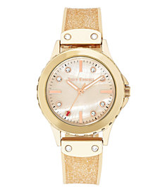 Woman's Juicy Couture, 1012RMLP Silicon Strap Watch