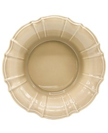 Euro Ceramica Chloe Taupe Salad Bowl