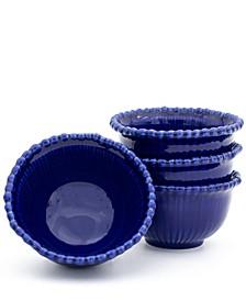 Sarar 4 Piece Cobalt Cereal Bowl Set