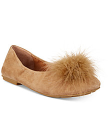 Gentle Souls by Kenneth Cole Portia Pom Pom Flats