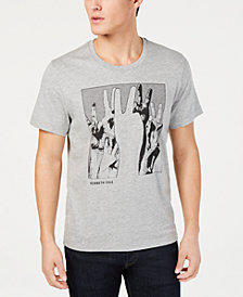 Kenneth Cole New York Men's Peace Hands Graphic T-Shirt