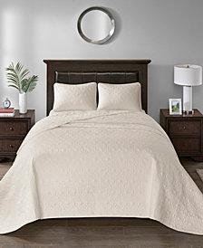 Madison Park Quebec 3-Pc. Full Bedspread Set