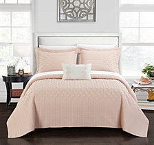 Chic Home Shalya 8 Pc King Quilt Set