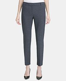 Calvin Klein Modern Fit Menswear-Print Pants