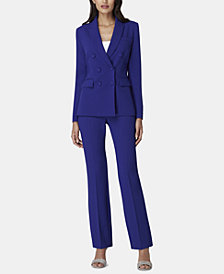 Tahari ASL Peak-Lapel Pant Suit