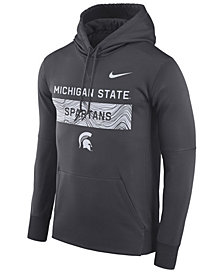 Nike Men's Michigan State Spartans Staff Pullover Hooded Sweatshirt