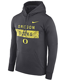 Nike Men's Oregon Ducks Staff Pullover Hooded Sweatshirt