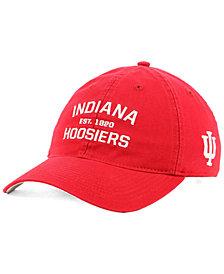 adidas Indiana Hoosiers Stadium Performance Wordmark Adjustable Strapback Cap