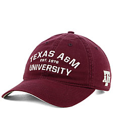 adidas Texas A&M Aggies Stadium Performance Wordmark Adjustable Strapback Cap