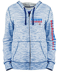 5th & Ocean Women's Oklahoma City Thunder Space Dye Hoodie