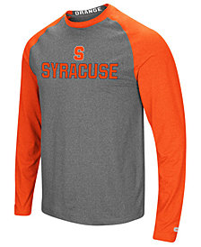 Colosseum Men's Syracuse Orange Social Skills Long Sleeve Raglan Top