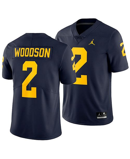 0f1b02f0e346 ... Nike Men s Charles Woodson Michigan Wolverines Limited Football Jersey  ...