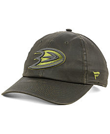 Authentic NHL Headwear Anaheim Ducks Fundamental Waxed Adjustable Cap
