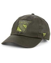 eefa2f53d Authentic NHL Headwear New York Rangers Fundamental Waxed Adjustable Cap