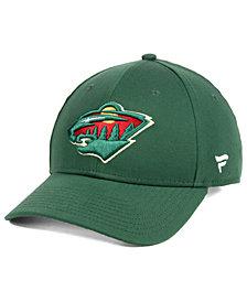 Authentic NHL Headwear Minnesota Wild Fan Basic Adjustable Cap