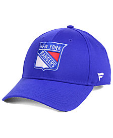 Authentic NHL Headwear New York Rangers Fan Basic Adjustable Cap