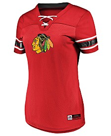 Majestic Women's Chicago Blackhawks Draft Me T-Shirt
