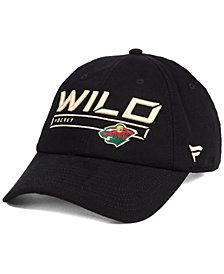 Authentic NHL Headwear Minnesota Wild Rinkside Fundamental Adjustable Cap